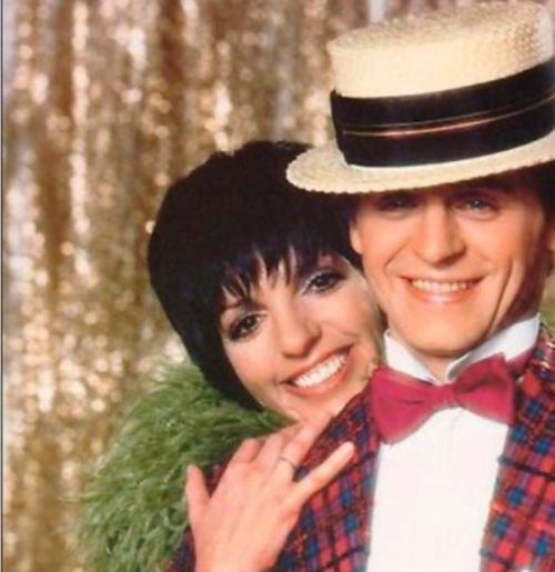 Liza Minnelli and Baryshnikov
