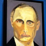 Portrait of Putin by George W. Bush