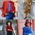 Stylish Russian pensioners