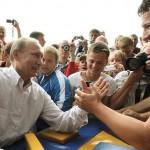 Vladimir Putin famous president