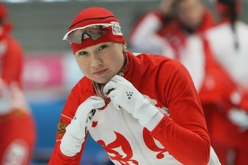 O. Fatkulina – Russian speed skater