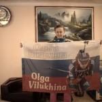 Olga Viluhina silver medalist
