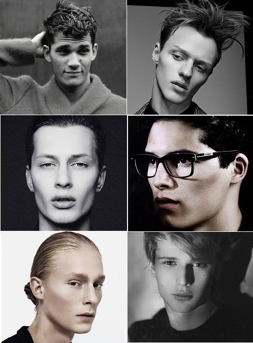 Russian male models, popular abroad