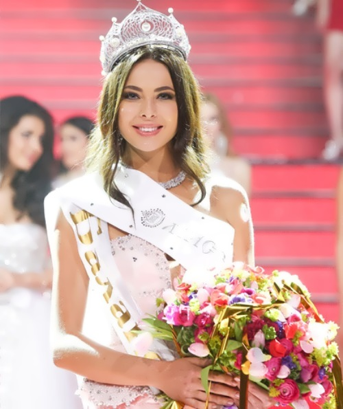 Yulia Alipova – Miss Russia 2014