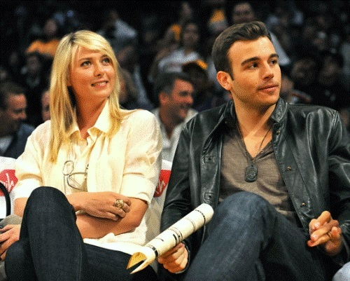 Sharapova and Charlie Ebersol