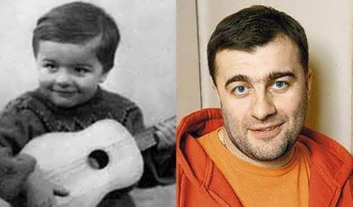 Porechenkov childhood
