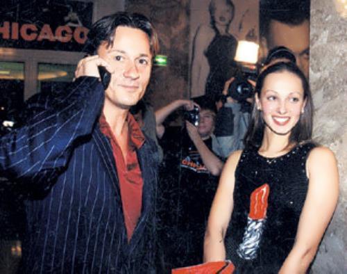 Menshikov and Lyudmila Kolesnikova