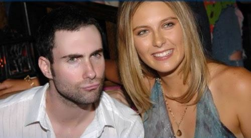 Sharapova and Adam Levine