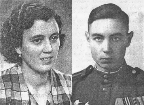 Love story of Soviet soldier and German beauty