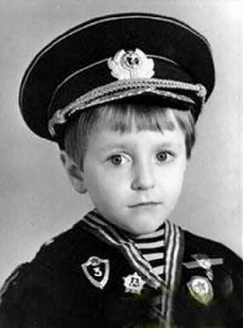 bezrukov childhood