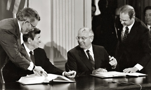 gorbachev reagan sukhodrev