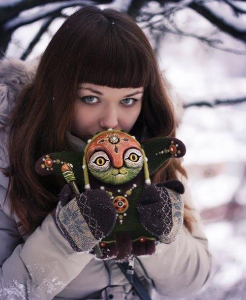 Alien toys by Mariana Kopylova
