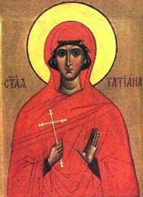 Icon of the Holy Martyr Tatiana
