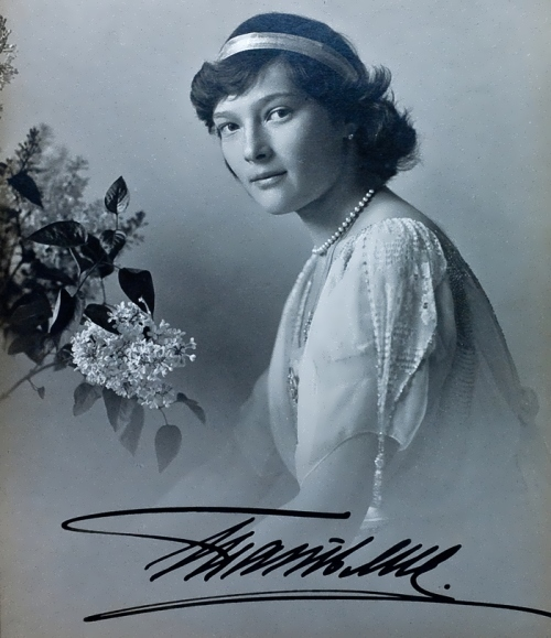 Princess Tatiana, daughter of Nicholas II