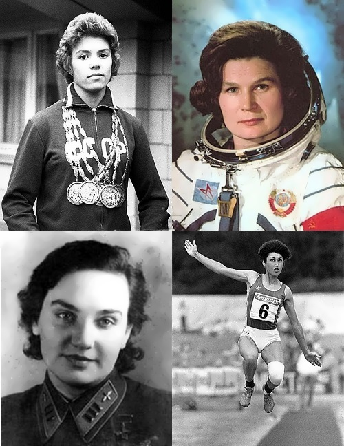 Most famous women – record holders