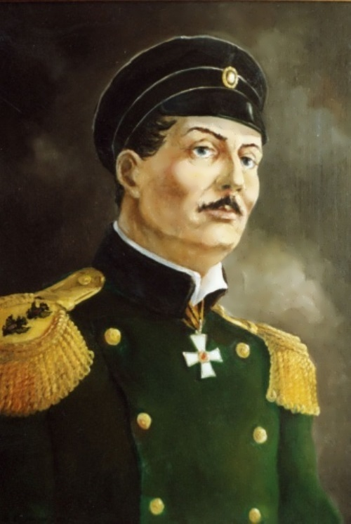 Great Russian Admirals. Pavel Nakhimov