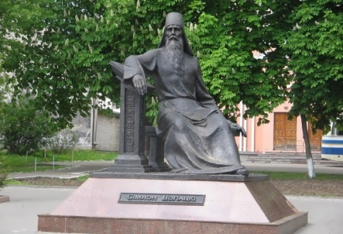 Main Russian teachers. Monument to Symeon of Polotsk