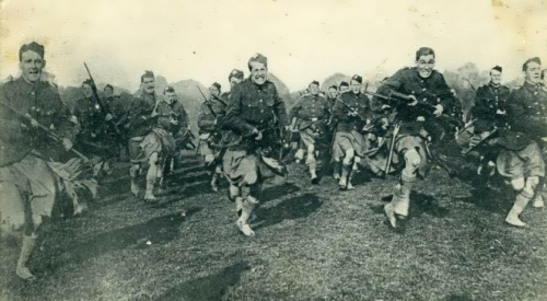 Scots in the army