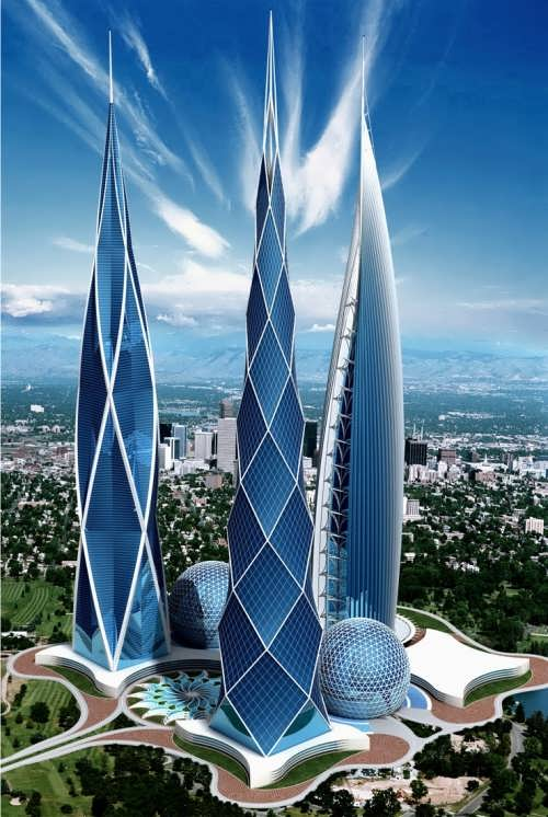 Skyscrapers by A. Korotich