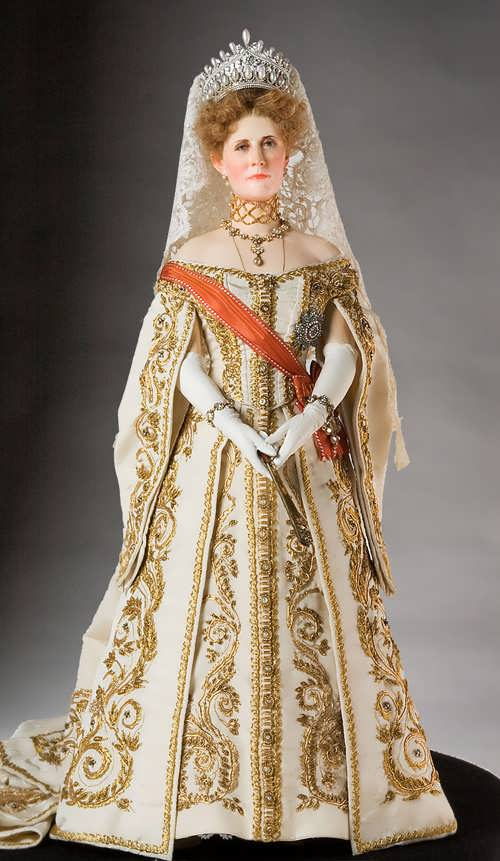 Empress Alexandra Fyodorovna - the wife of Nicholas II