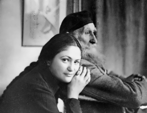Dina Vierny and Aristide Maillol