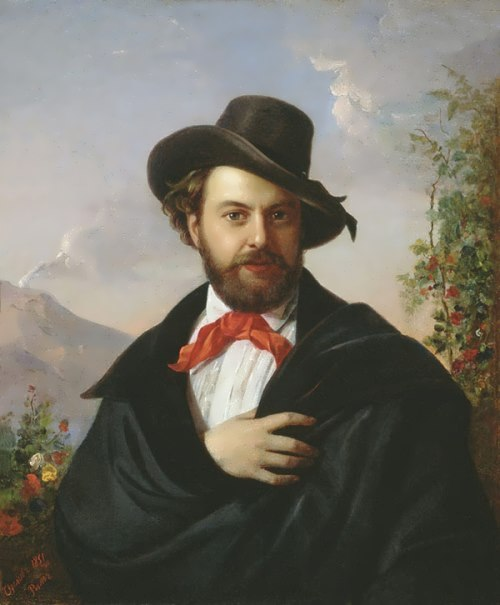 Pimen Orlov Self-portrait