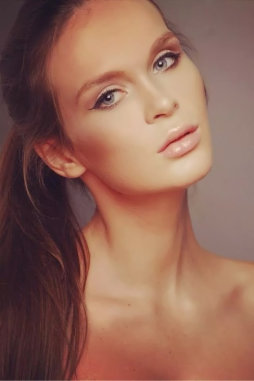 Beautiful and charming Olga