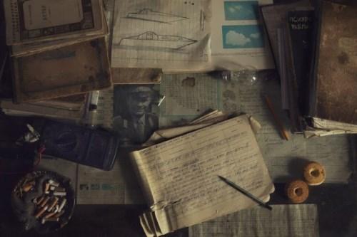 Vyacheslav's desk