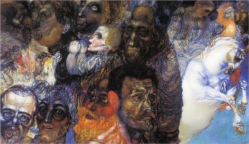 P. Filonov. Heads.
