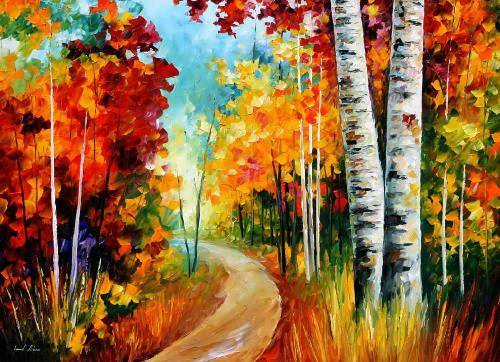 Beautiful bright pictures by Afremov
