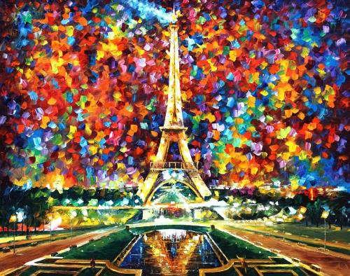 Colorful pictures by Afremov