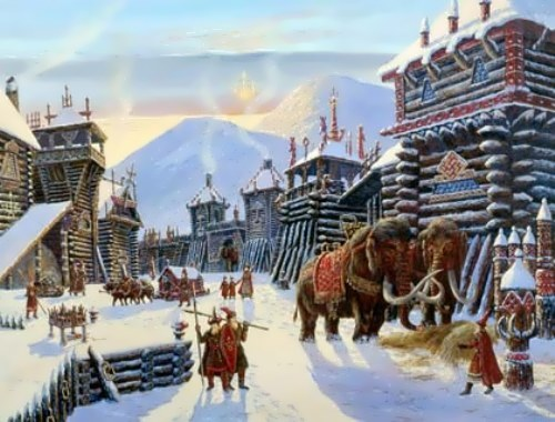 Vedic Russia in pictures by Vsevolod Ivanov