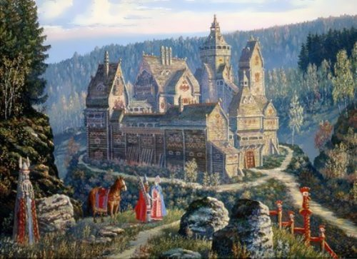 Vedic Rus in pictures by Russian painter