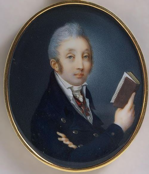 Pavel Ivanov. Portrait of Count Mikhail Speransky