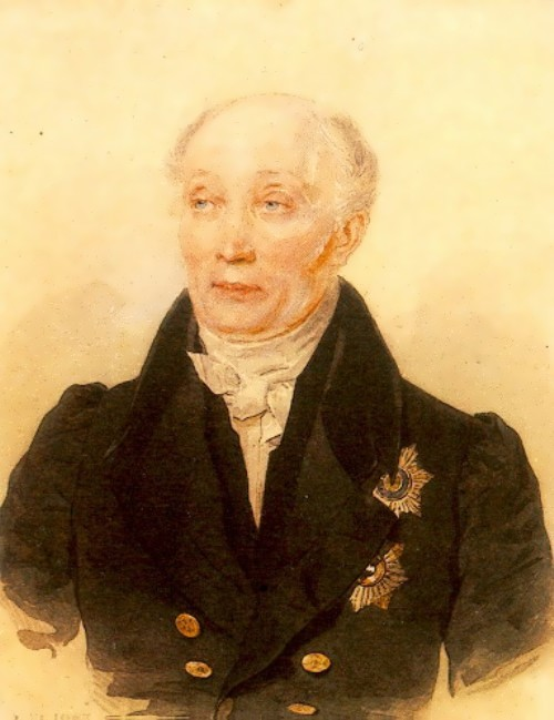 Pyotr Sokolov. Portrait of M.M. Speransky
