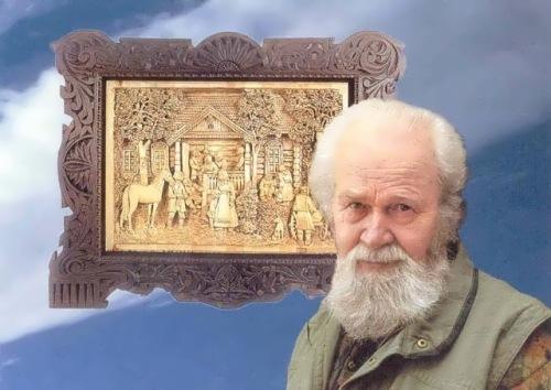 Kronid Gogolev – Russian wood carver