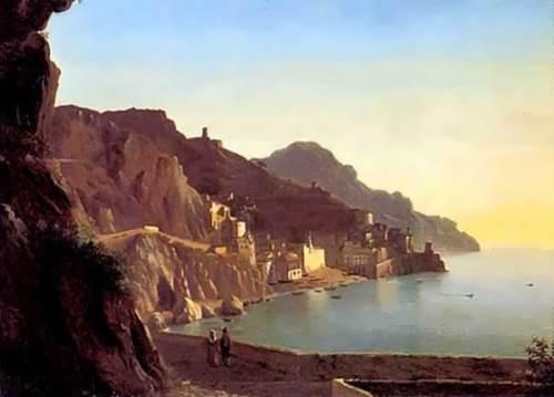 Italian landscape. Capri