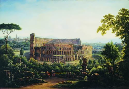 View of Rome. Colosseum
