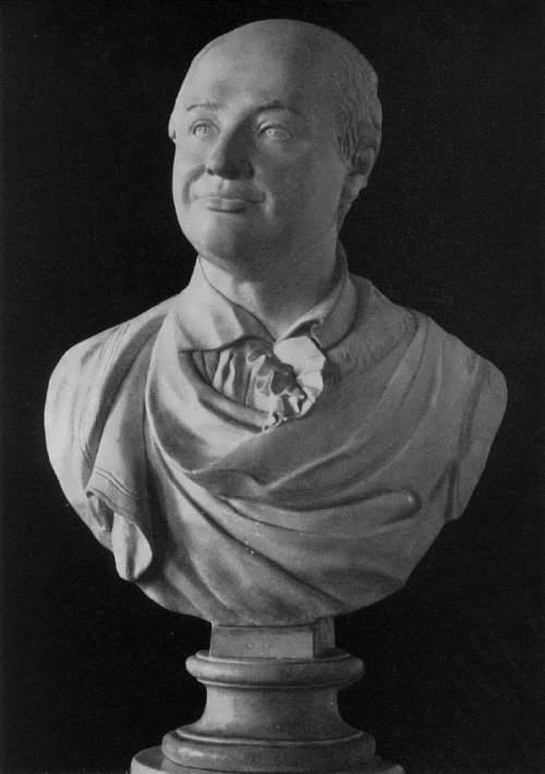 Bust of M. V. Lomonosov