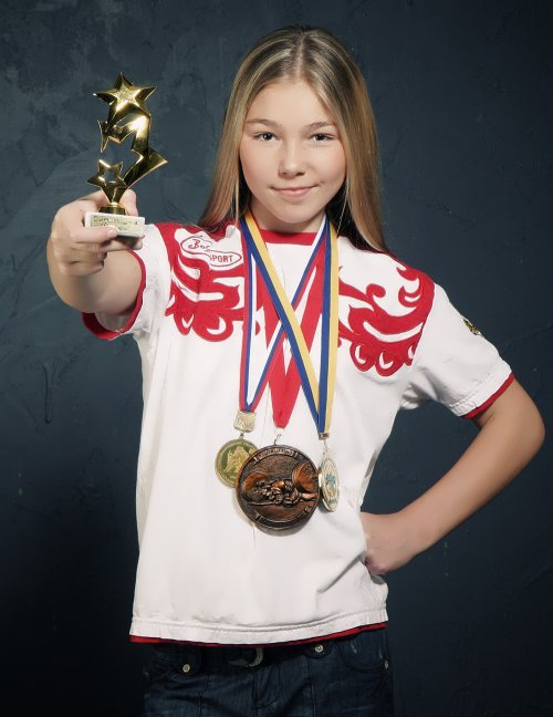 Naumova Maryana weightlifter