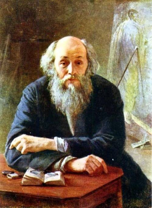 Portrait of the artist Nikolai Ghe