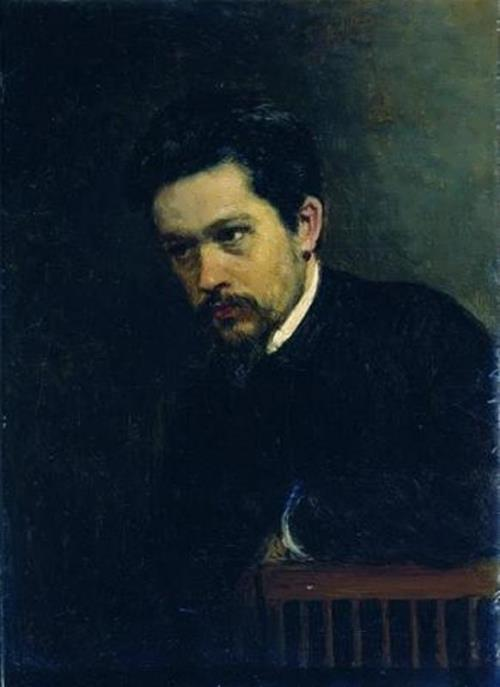 Nikolai Yaroshenko. Self-portrait