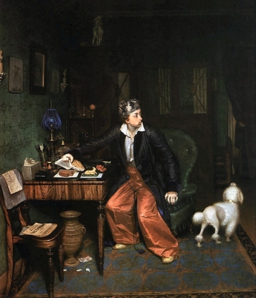 The Aristocrat's Breakfast, 1849