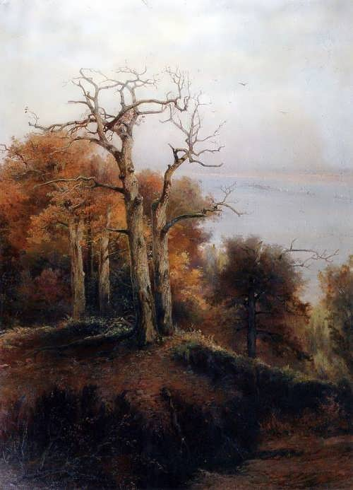 Autumn forest. Kuntsevo. Cursed place, 1872