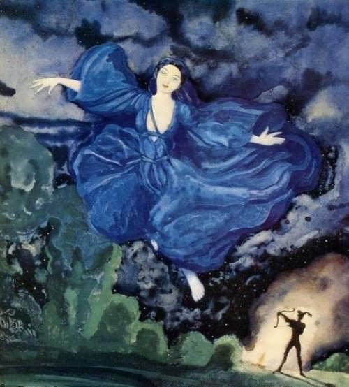 Blue bird, 1918