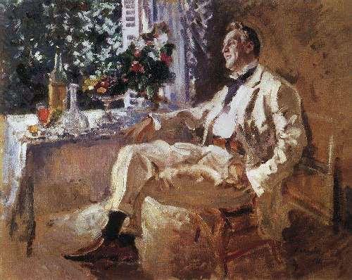 Portrait of Fyodor Chaliapin Konstantin Korovin