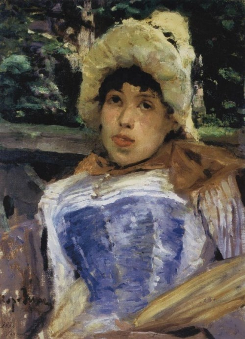 Portrait of a Chorister, 1883