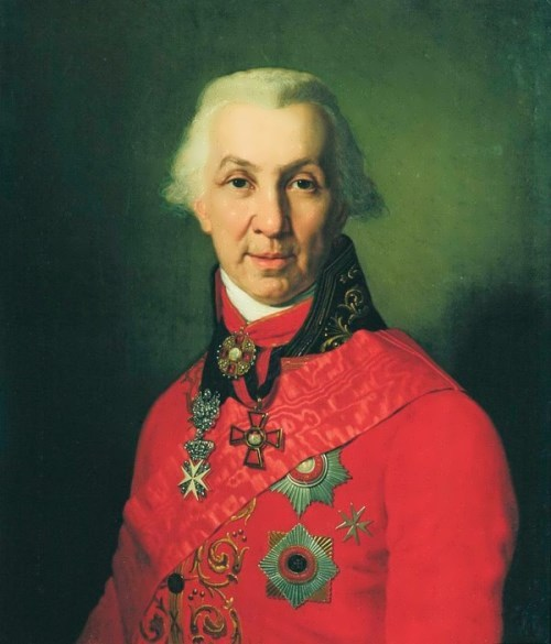 Portrait of G. R. Derzhavin, 1811