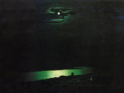 Moonlit Night on the Dnieper, 1880
