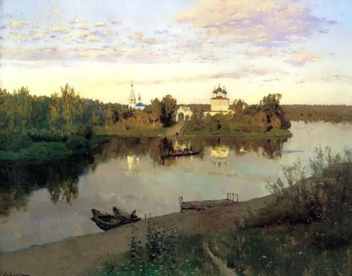 Evening Bells Isaac Levitan